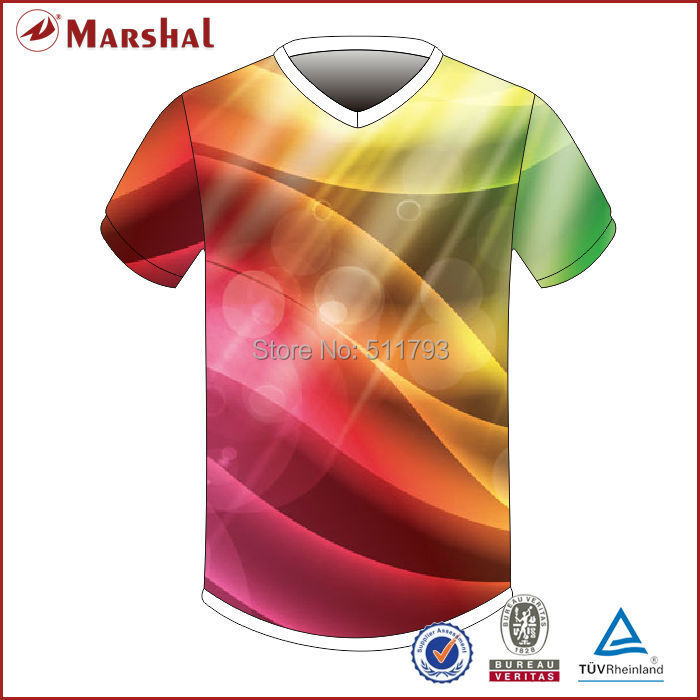 Free shipping wholesale sublimated printed soccer shirt thai quality soccer jersey football jersey kits(China (Mainland))