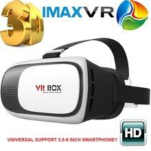 Hot! Head Mount Plastic VR BOX 2.0 Version VR Virtual Reality Glasses Google Cardboard 3d Game Movie for 3.5″ – 6.0″ Smart Phone