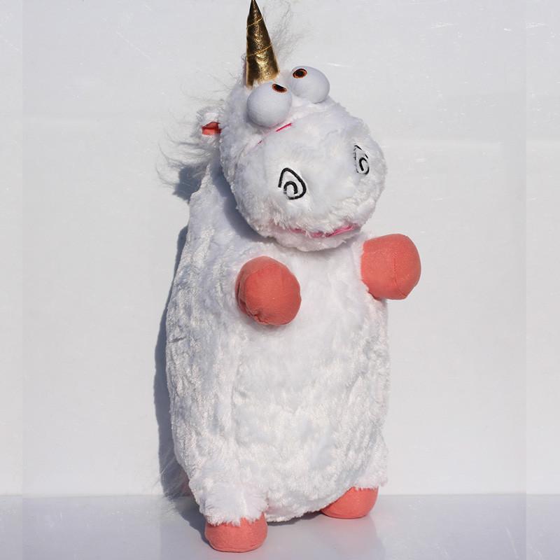 EMS 20pcs 2050cm Large Size Despicable me Unicorn Plush Toys Soft Doll For Girl Wholesale<br>
