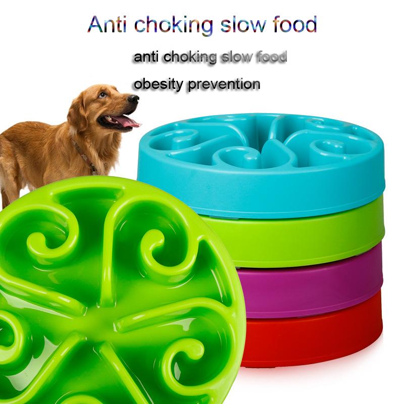 High Quailty Fun Feeder Dog Interactive Slow Food Bowl Anti Choke Bowl Pet Cat Feeding Tools(China (Mainland))