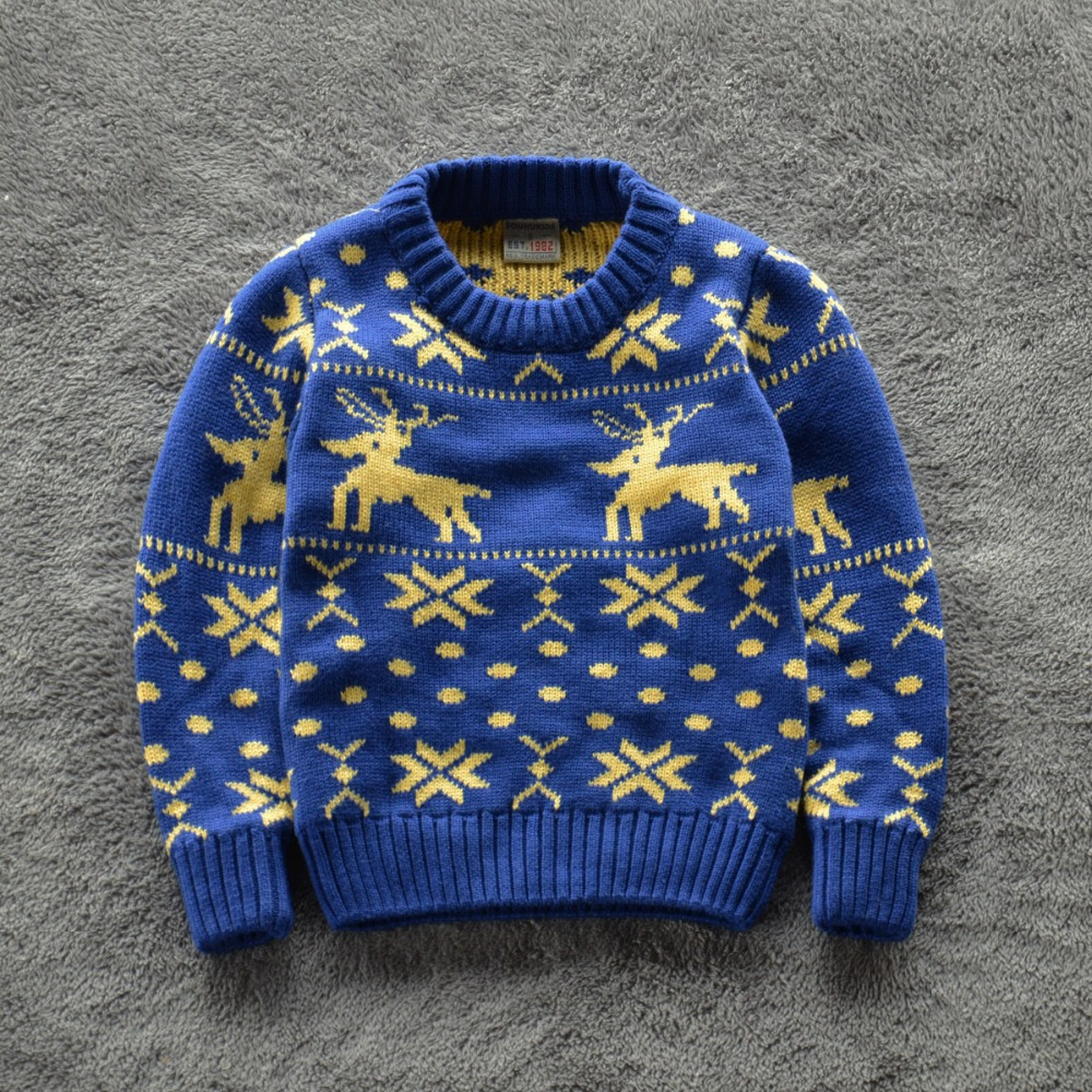 Knitting Design For Baby Boy Sweater : Online Buy Wholesale boys christmas sweaters from China ...