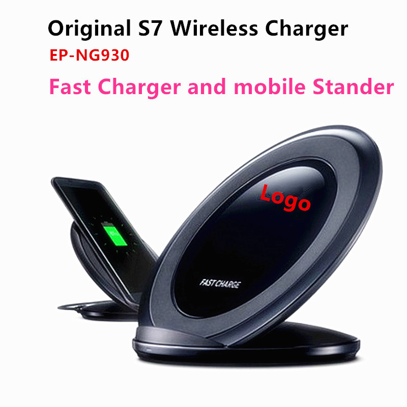 100% Original S7 wireless Charging Pad Qi Standard Charger Fast Charge for SAMSUNG S6/ s6 Edge/NOTE5/S7/S7 EDGE(China (Mainland))