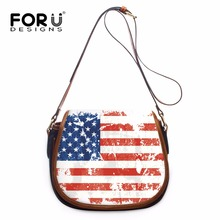 Buy FORUDESIGNS famous brands women messenger bags small pu leather women crossbody bags US AK flags designer bags ladies purse for $42.39 in AliExpress store