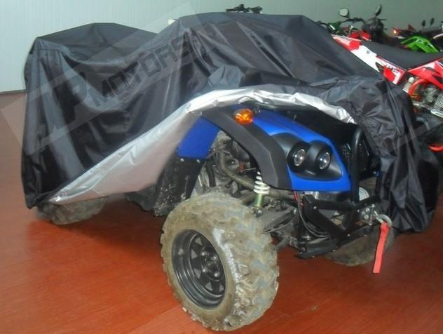 190T Motorcycle Waterproof Cover Quad Bikes ATVs Fit For Honda Yamaha Suzuki CAN-AM Up to 800cc(China (Mainland))