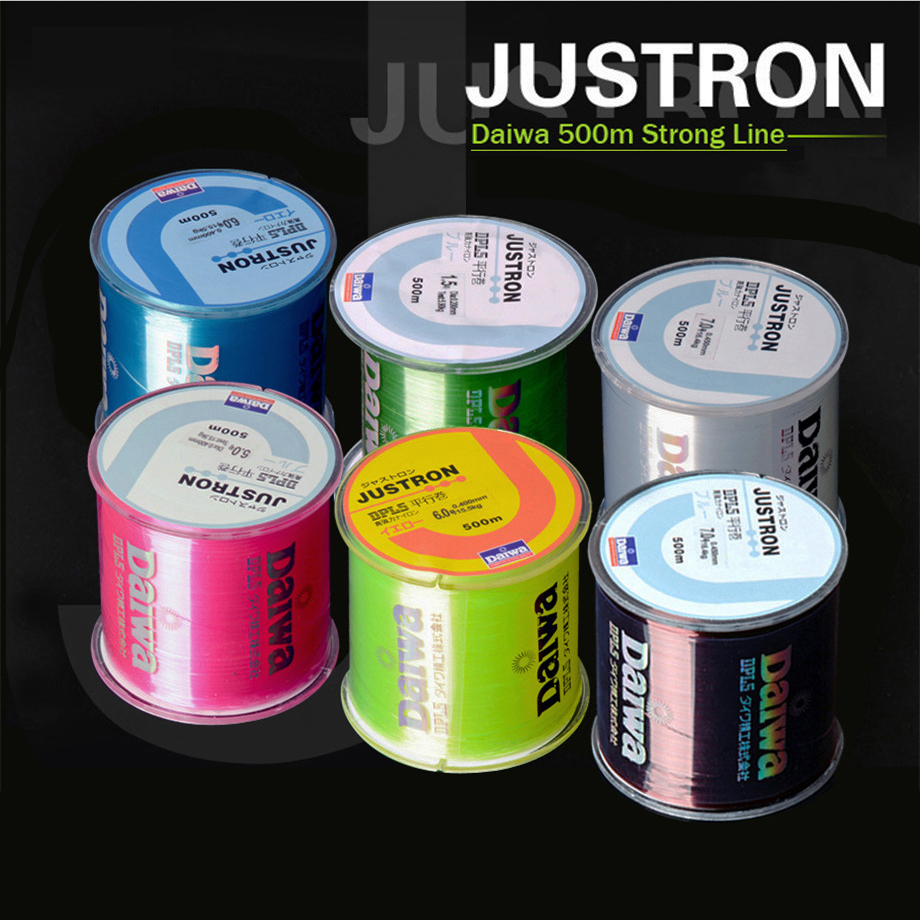 FREE SHIPPING Transparent/ Yellow/ Red/ Blue 500m Monofilament Fishing Line 100% Nylon fishing line for carp fishing(China (Mainland))