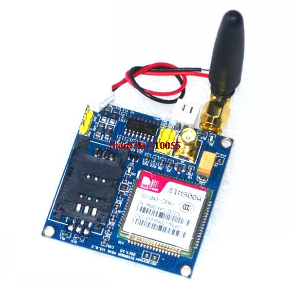 New SIM900A V4.0 Kit Wireless Extension Module GSM GPRS Board Antenna Tested Worldwide Store(China (Mainland))