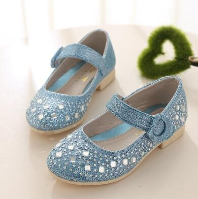 Flower Lace Children Shoes Girls Sandals PU Leather Infant Baby Girl Shoes High Heel Sandals for Girls Princess Chaussure Enfant(China (Mainland))