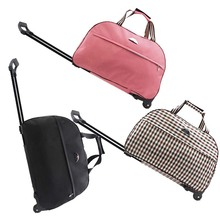 New 2014 High Quality Have A Lock,Waterproof Fashion Tourism Women And Men Travel Bags Trolley Wheels Rolling Luggage 21 Color(China (Mainland))