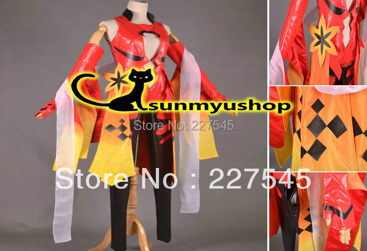 Free Shipping !  Guilty Crown YUZURIHA INORI Cosplay costume!  Acceptable orderОдежда и ак�е��уары<br><br><br>Aliexpress