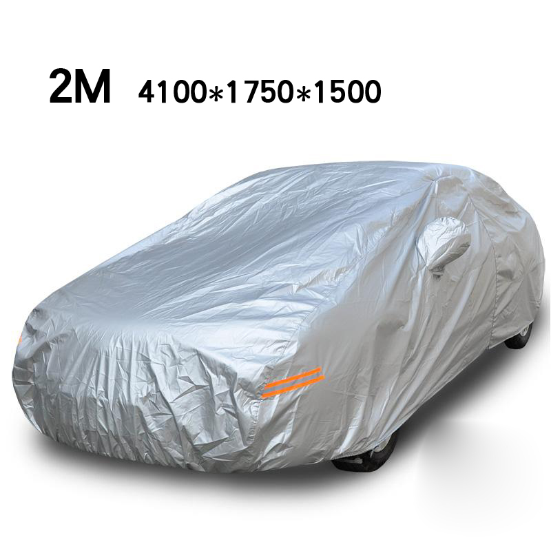 Hot ! All-Weather Protection Car Covers Mazda Volkswagen Peugeot Opel Kia Hyundai Lada Hatchback M 4.1*1.75*1.5 Free Shipping(China (Mainland))