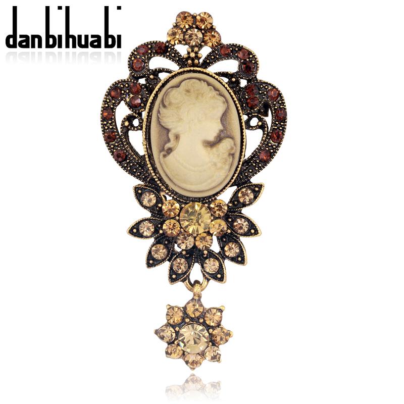 HOT Sale Germany Rhinestone brooch pins Flower Shape broche New Wedding brooches for women