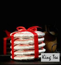 *King Tea*2013 XinYiHao 200g*5=1000g Cake 357g China YunNan MengHai Chinese Puer Puerh Ripe Tea Cooked Sheng Cha Premium - King store