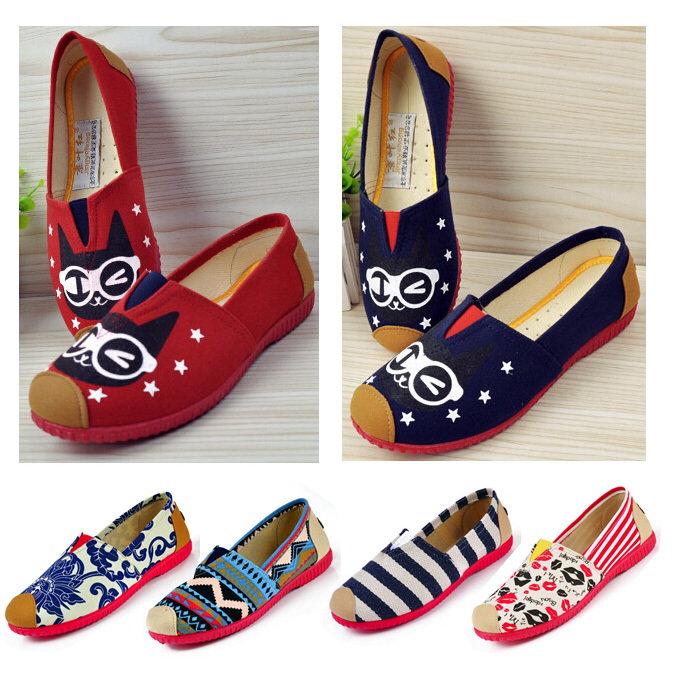 new 2015 fashion high quality lazy shoes colorful