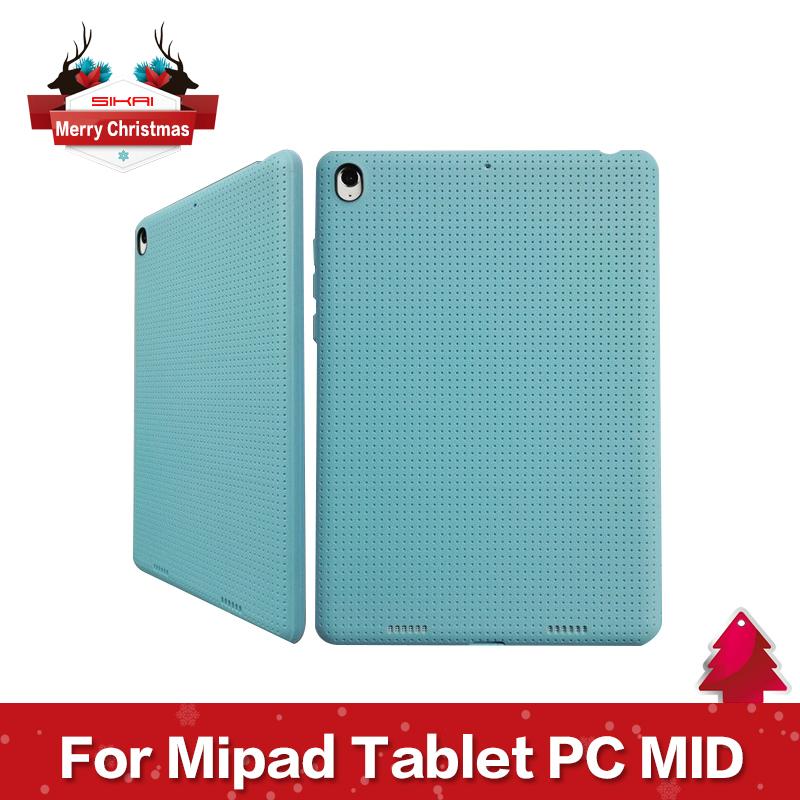 Гаджет  1PCS Radiating Ventilate Silicon Case Cover for Xiaomi Mipad Tablet PC MID 16GB 64GB  None Компьютер & сеть