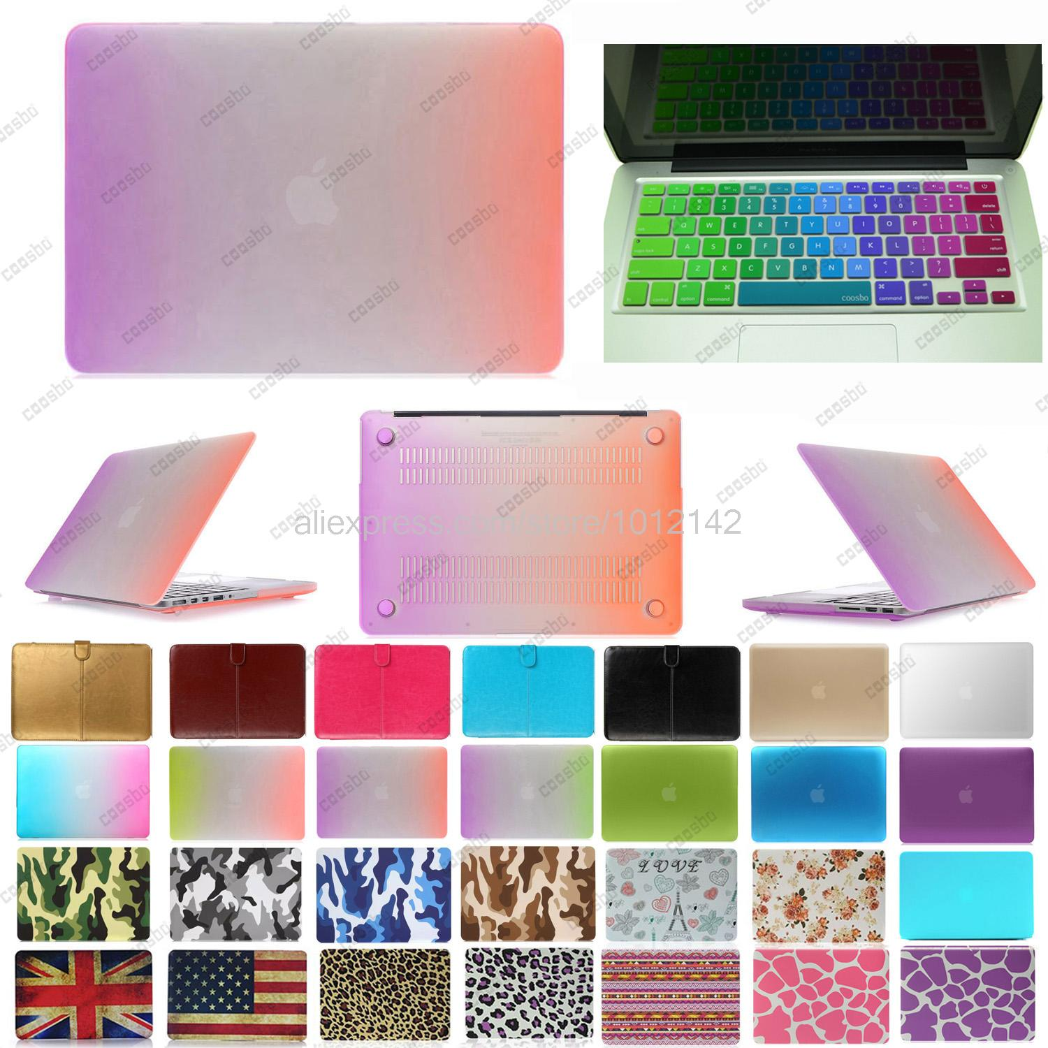 "2in1 freeship colorful Hard shell Case Cover protector For mac Macbook Air Pro Retina 13"" 15"" + Norway Norwegian Keyboard Skin(China (Mainland))"