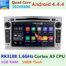 "Quad-Core1024*600 7"" Android 4.4 Opel Astra zafira Vectra Antara BT Radio DVD Player with RDS USB SD Steering wheel Free Map(China (Mainland))"