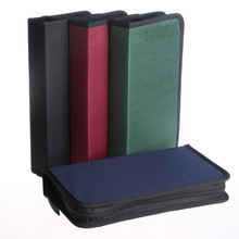 Puscard CD VCD DVD 80 Discs Storage Holder Cover Carry Case Bag Orananizer Box Free shipping Wholesale H(China (Mainland))