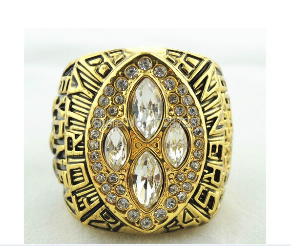 NFL Replica 1989 San Francisco 49ers Super Bowl Football Championship Rings Size 11 Best Fan Gift for Men Jewelry with a box(China (Mainland))