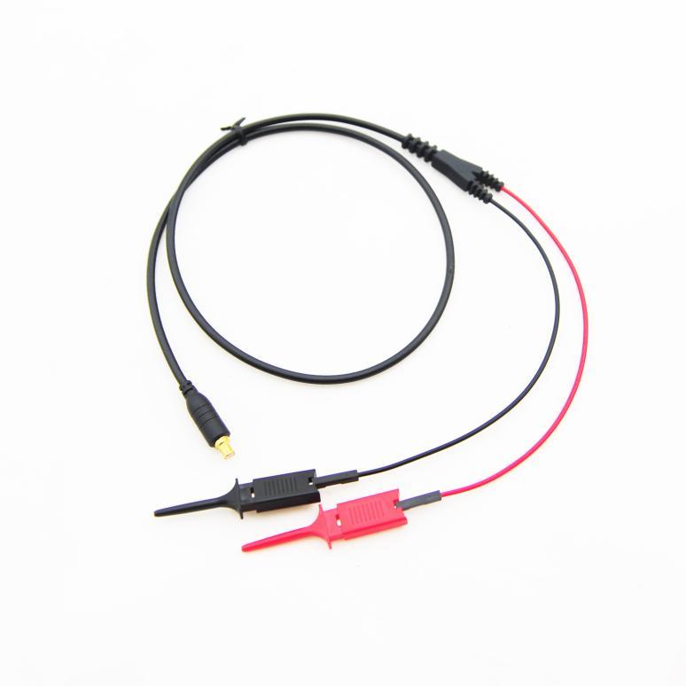 Alta Calidad de Gancho Digitales Sonda Mcx para Mini Digital Osciloscopios DSO DSO201 DS203 QUAD(China (Mainland))