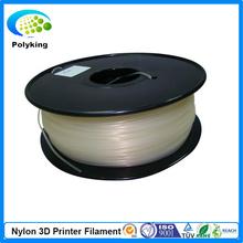 3D printer filament PA Nylon Transparent Color 1.75mm 3.0mm 1kg/2.2lbs Consumable for MakerBot RepRap UP Mendel 3 Color Optional