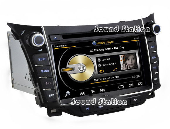for hyundai i30 2012 2013 2014 auto car dvd gps navigation. Black Bedroom Furniture Sets. Home Design Ideas