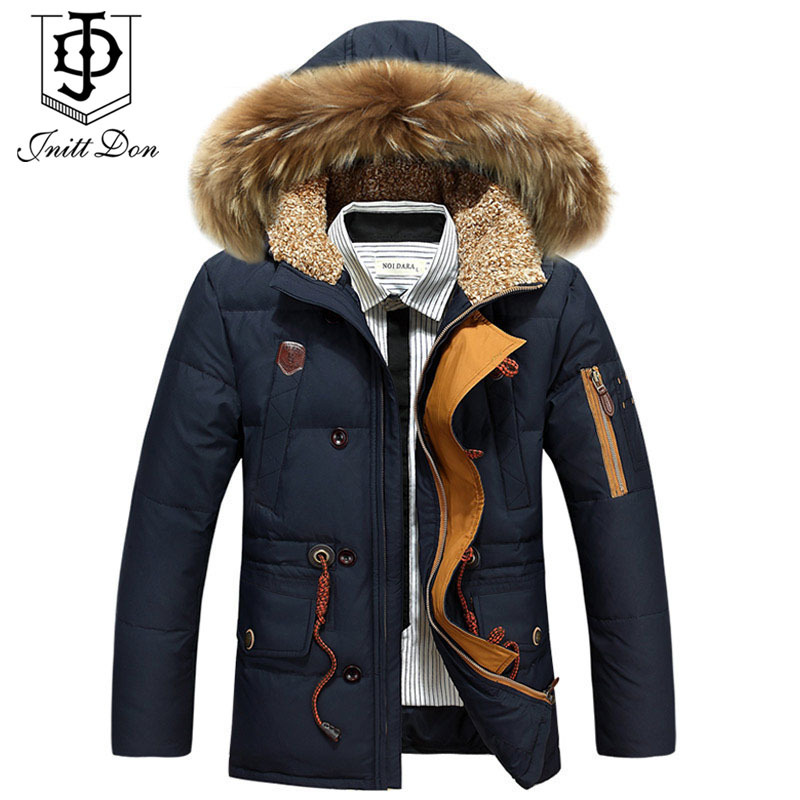 2015 winter men long down jacket Nagymaros collar down jacket men thick coat winter coat men