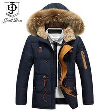 2015 winter men long down jacket Nagymaros collar down jacket men thick coat winter coat men casual menswear brand YRF104