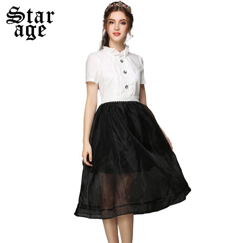 5xl high end plus size sexy women lace long dress big size black