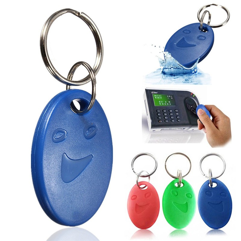 Proximity 125KHz ID Token Tag Key Keyfobs Chain Access Control Smart Card For TK4100 Shockproof Anti-corrosion High Quality(China (Mainland))