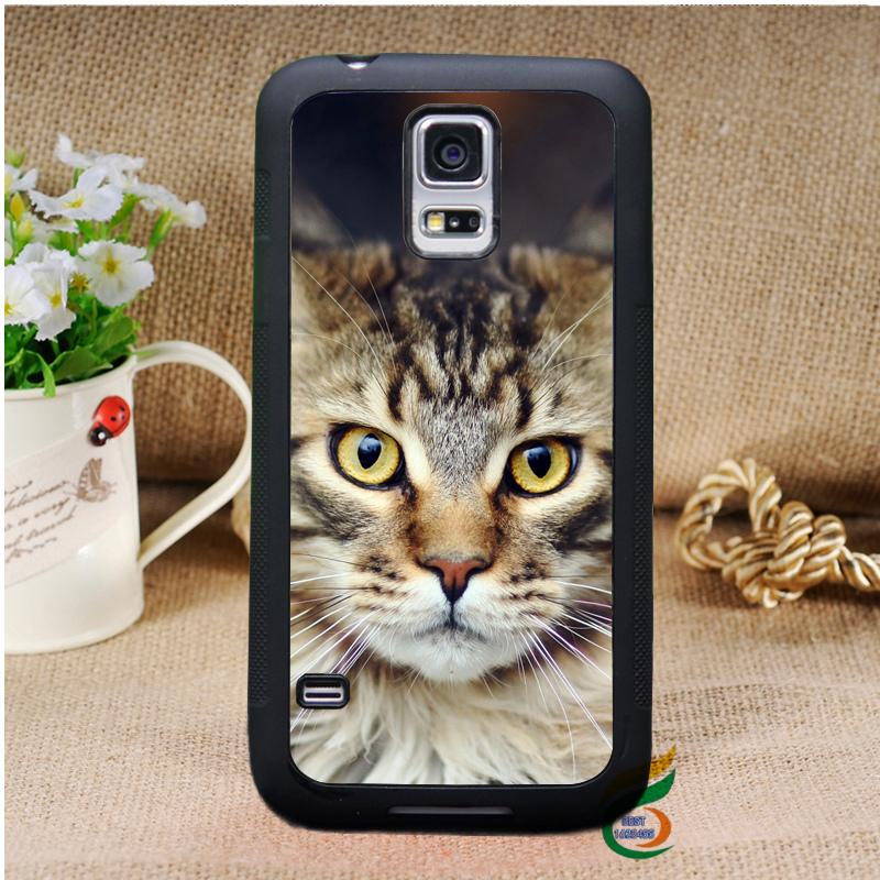 MaineCoon cat kitten fashion original cell phone case cover Samsung galaxy S3 S4 S5 Note 2 3 - Best supplies store