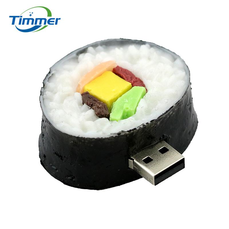 pendrive cartoon Korean sushi pendriver 8gb 16gb 32gb 64gb usb flash drive gift external storage free shipping(China (Mainland))
