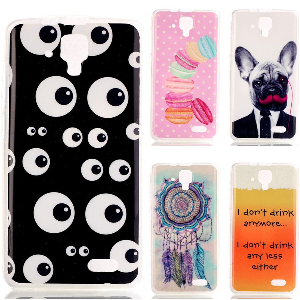 Cell Phone Covers Cases For Lenovo A536 5'' inch Fashion Drawing TPU Cartoon Silicone Gel Soft Back Cover Fundas Capa(China (Mainland))