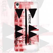 Депеш белый чехол для телефона для sony Xperia Z1 Z2 Z3 Z4 Z5 M4 Aqua C4 чехол XA; XZ E4 E5 L36H(China)