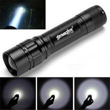 High Quality Focus 3 Modes CREE XML T6 LED  focus 3000 Lumens 18650 Flashlight linternas Torch Lamp Powerful(China (Mainland))