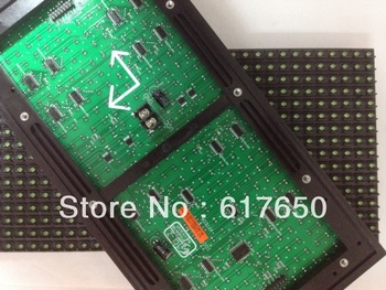 Factory Price High Resolution Outdoor P10 Green Led Display Module 320mm*160mm Waterproof