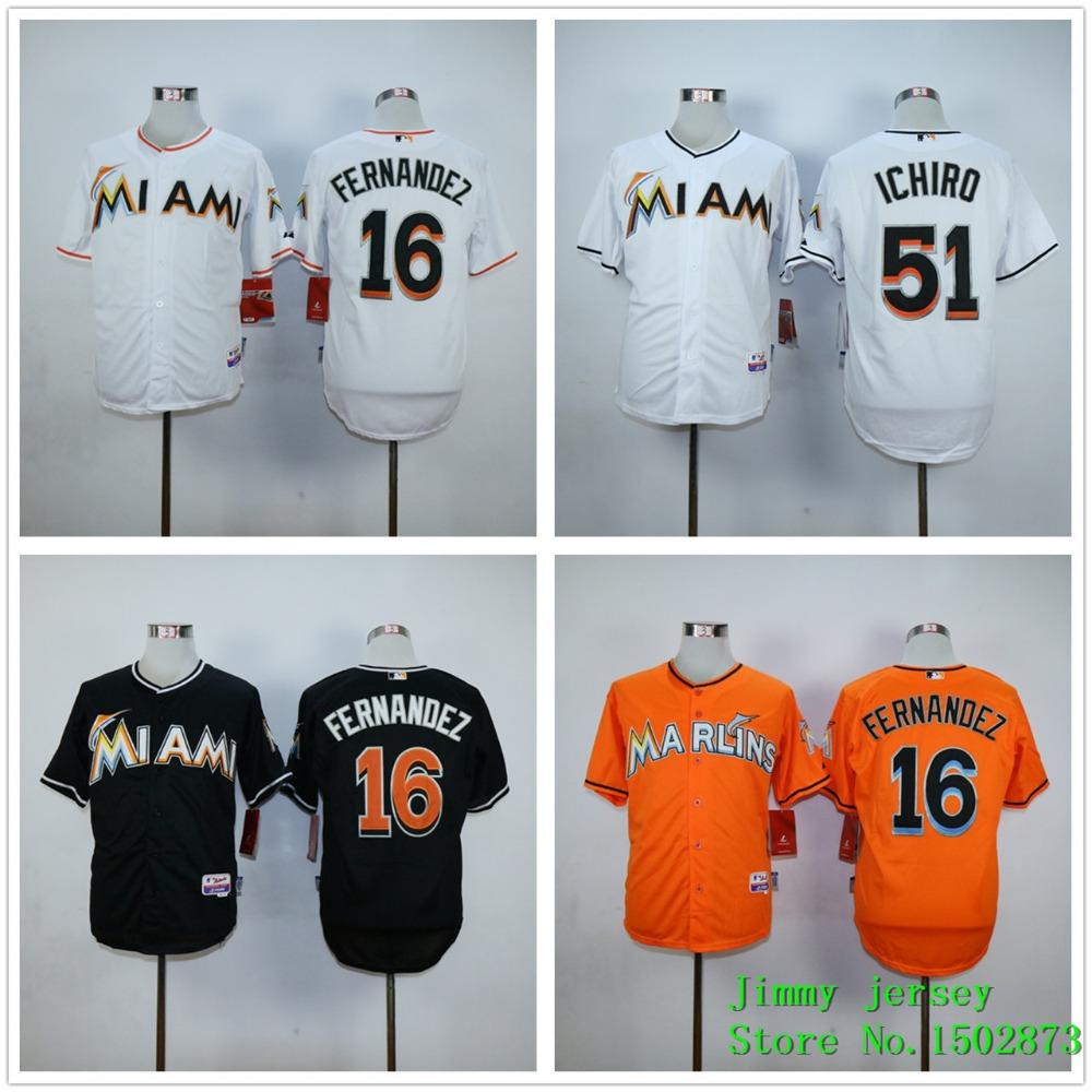 Cheap Men's Baseball Jersey Miami Marlins Jose Fernandez Jersey,Miami Marlins 27 Stitched Jerseys Free shipping