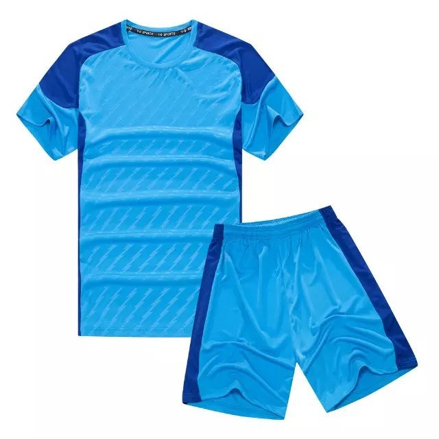 custom made kids short sleeve plain football kit children football team jersey.(China (Mainland))