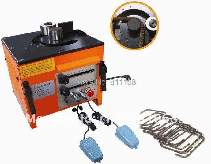 Hydraulic RB-25( Rebar Bender Range 0-180) Portable rebar bender hand-held Bending Machine - Online Store 811108 store