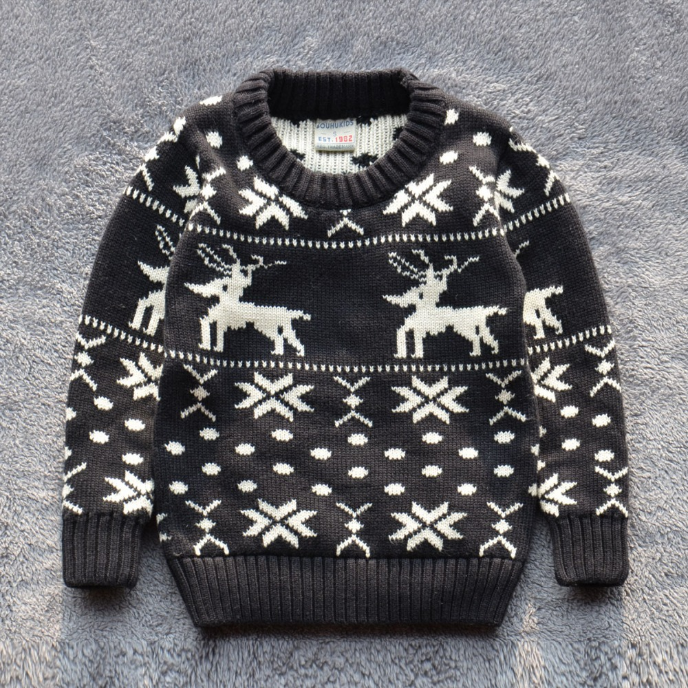 Child s Christmas Jumper Knitting Pattern : sweater Picture - More Detailed Picture about new 2015 baby boy christmas swe...