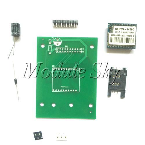 M590 GPRS GSM SMS Module M590 SIM Module TCP / UDP Module DIY Kit For Arduino(China (Mainland))
