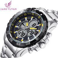 2015 WEIDE Sports Watch Luxury Brand Unique Design Men Multi-functional Analog Digital Wristwatch Japan Quartz