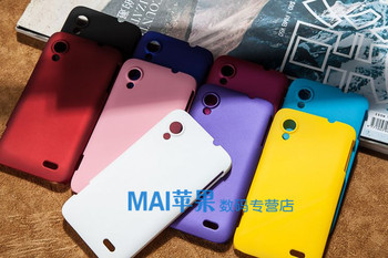Colorful Matte Hard Plastic Case for Lenovo S720 S720i Cases, Cell Phone Cases, Free Shipping!