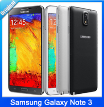 "Original Unlocked 5.7"" Samsung Galaxy Note III Note3 N9002 Quad Core Smart Phone 3GB RAM 16GB ROM Android 4.4 13MP Camera(China (Mainland))"
