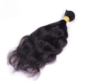Brazilian Real Hair Natural Wave Hair Extension Human 100g/pc 18-30inch Natural Color Hair Weave Free Shipping