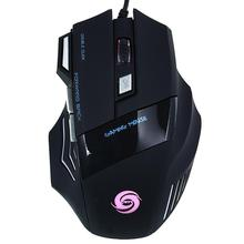 Buy 5500DPI LED Optical Professional USB Wired Gaming Game Mouse Mice 7 Buttons Computer Mouse Cable OPro Mouse Gamer Peripherals for $7.09 in AliExpress store