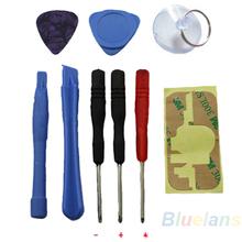 8 Pcs / set Repair Opening Tools Kit Pentalobe Star Screwdriver Screen Fix for iPhone iPod Wholesale 1G4D(China (Mainland))