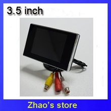 "3.5"" Dashboard Backup mirror  Color TFT LCD  Car TFT LCD Rearview Color Camera Monitor DVD VCR(China (Mainland))"