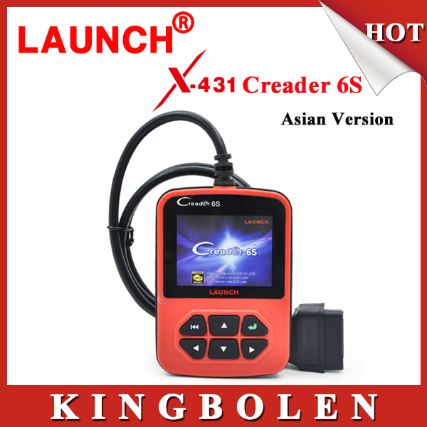 2015 New Arrival OBD2 Auto Scanner Original Launch X431 Creader VI Plus Code Reader Update On Official Website Creader 6S Launch(China (Mainland))