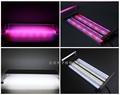 Dimmable 8 rows Full Spectrum Led fish tank aquario lamp Flexible Clip aquarium light for plants