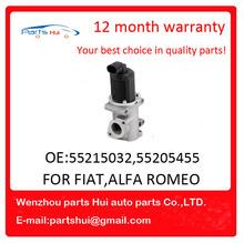 Новое, Послепродажного OEM качество клапан EGR для FIAT / OPEL / VAUXHALL / ALFA ROMEO 55186214 55194734 55205455 5851827 93178886